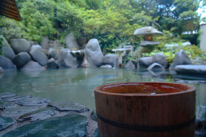 Meiken-onsen hot springs